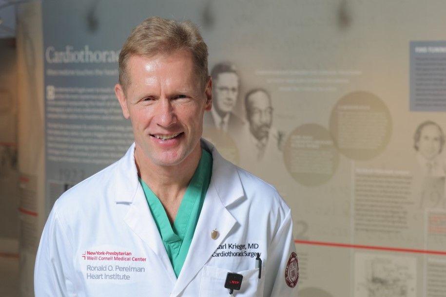 Karl H Krieger, MD Minimally Invasive Surgeon
